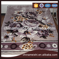 OEM Customized 100% Polyester fabric Super Soft Mink Blanket Guangzhou manufacturer