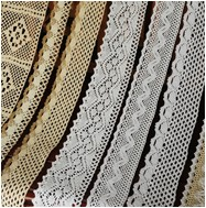 Custom 1 2 3 4 5 6 CM Cotton Eyelet Lace Trim French Lace Trimming Cotton Crochet Lace Trim