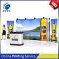 Digital printing flex fabric advertising pop up display