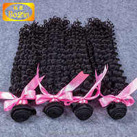 Factory supplier human hair, natural color deep wave new hair styles