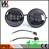 2pcs Included Motorcycle Accessories 12v 24v led front light head light 4.5inch fog lights for har ley