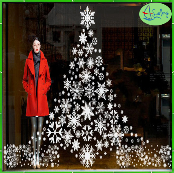 Shop Front Window Decals for Christmas holiday items