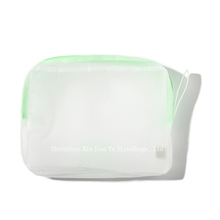 Wholesale Economical Waterproof Clear Frosted PVC Cosmetic Bag