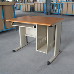 Nice metal frame wooden top desk on sale
