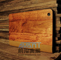 Natural Real Wood Tablet PC Cover for iPadmini