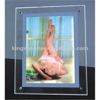 Fashion A1 A2 A3 A4 acrylic Crystal LED Box Light