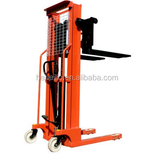 1 ton High quantity manual hand hydraulic stacker