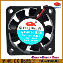 China manufacturer 5v 12v 24v dc mini squirrel cage fan 40x40x10 cheap price mini computer fan