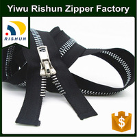 RISHUN wholesale school bag parts 3 5 7 metal zipper roll