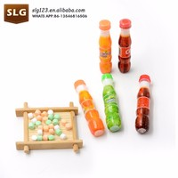 7g Cola Bottle Pressed Candy with furity orange cola flavor