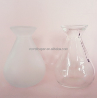 160ml frosted reed diffuser long neck clear empty glass bottle