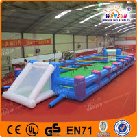 Large funny sport games inflatatble water football