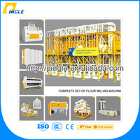 Automatic Small Scale Grain Wheat Grinding Mill Machines For Sale/Corn Flour Mill Grinder Price