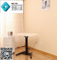 One-leg electric height adjustable desk & cheap price office table