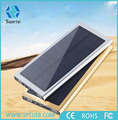 New Arrival High Capacity Aluminum Shell 20000mah rechargeable solar power bank