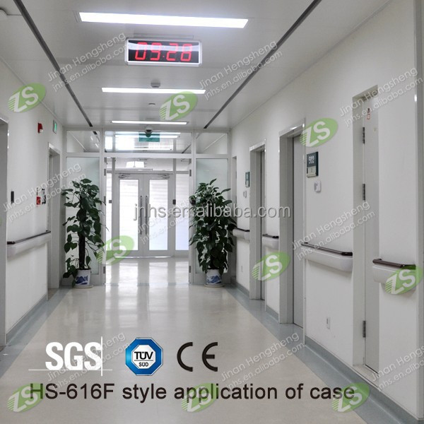 anti-collision chrome handrails for stairs with SGS