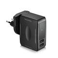 Night Vision Hidden Camera Charger 1080P AC Power Adaptor Self-Recording DVR Recorder with Dual USB Port