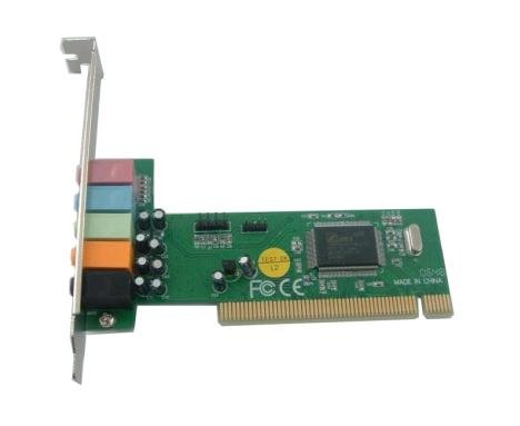 Green Connection CMI 8738 6 Channel PCI Sound Card