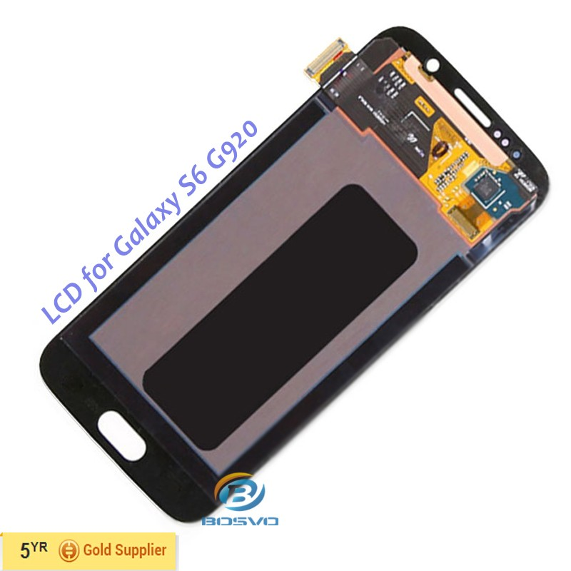 mobile phone lcd screen panel for Galaxy S6 G9200 display with touch digitizer assembly replacement repair parts accessories