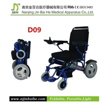 ISO 13485 CARE High-back folded wheel chair electric motor wheel chair batteries for electric wheel chair