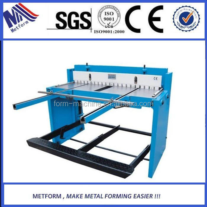 Direct manufacturers supply sheet metal hand operate cutting <strong>machine</strong>