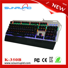 RGB colorful mechanical keyboard compact size for gaming with Kaih switch