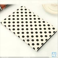 Polka Dot tablet leather case for iPad Mini with Retina Display/ iPad Mini 2 P-IPDMINIiiCASE030