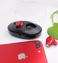 Wireless Bluetooth earphone 4.2 Mini Bluetooth Stereo Invisible earbud for smartphone