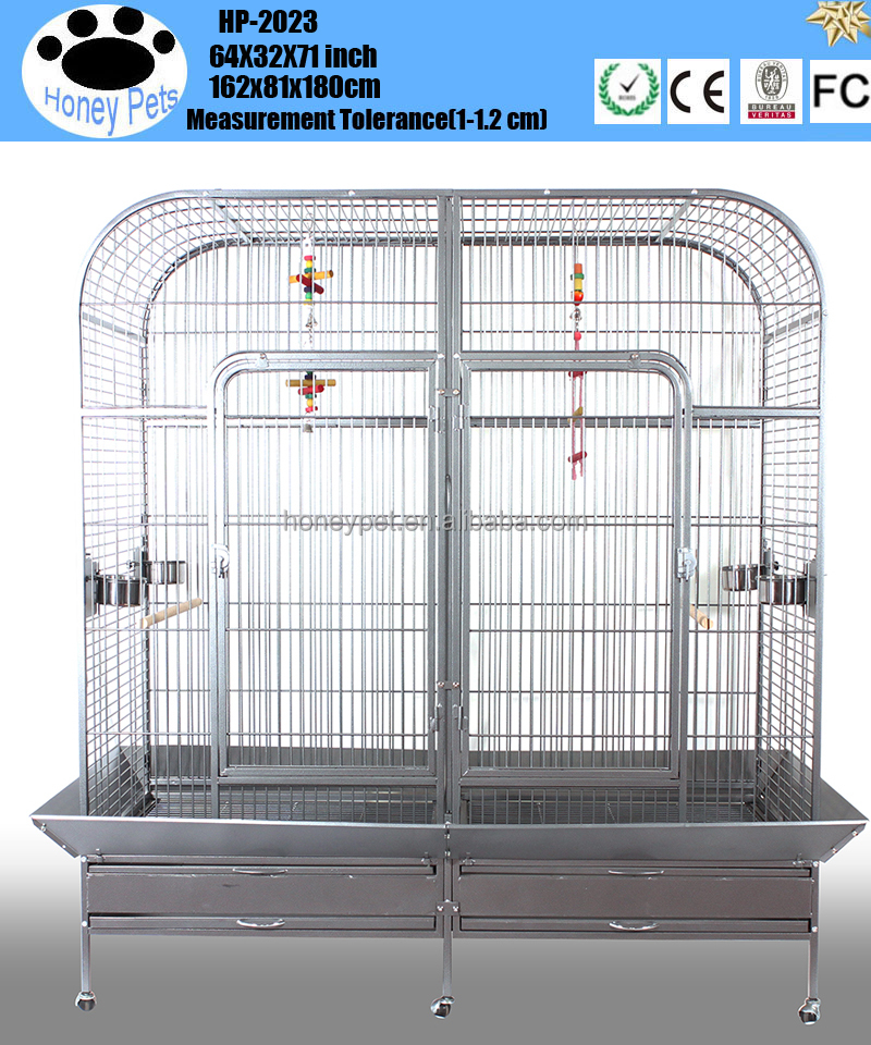 Pet Play Top Parrot Cockatiel Cockatoo Parakeet Finches breeding cage bird parrot