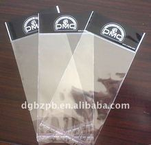 2012-BZ558 beautiful OPP Header Bags with toy packaging bag