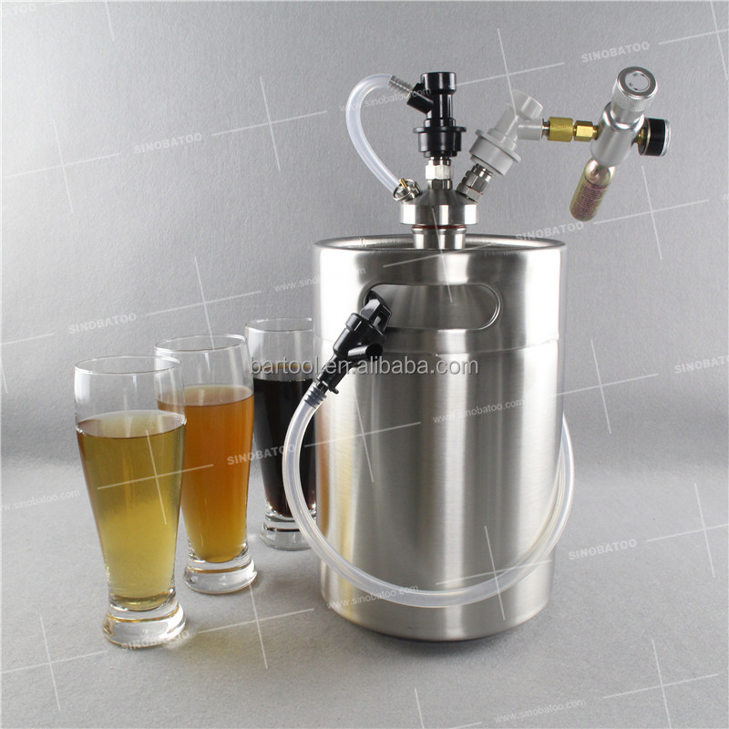 Mini beer tapping system co2 regulator for bartool