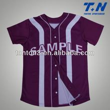 best material linghtweigh breathable baseball tops