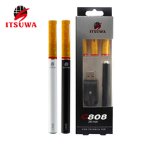 Reusable disposable electronic cigarette e-cig atomizer tanks