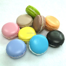 Imitation food - Sweet realistic squishy PU fake macaron for refrigerator magnets or cell phone charms