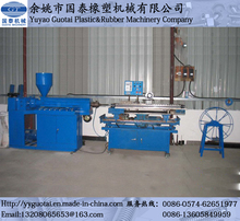 PE Single Wall Corrugated Pipe Forming Machine/Extrusion Line