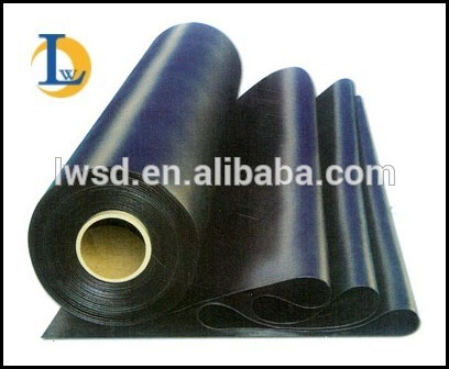 Suitable price EPDM coiled rubber waterproofing pond liner