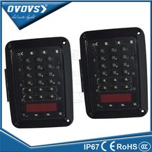 Guangzhou auto part led tail light new design multi-function led tail light for SUV off road J-eep