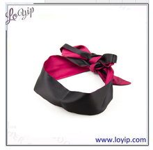 Fetish Sex toy bondage silkly satin eye blindfold/ sleeping eye mask