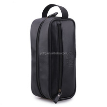 Popular lady/man Travel wash gargle cosmetic PU bag