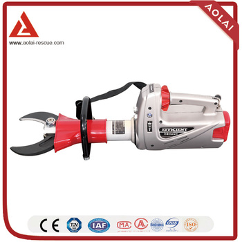 Battery forcible entry tool of hydraulic cutter for firefighter In China