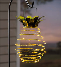 Pineapple Fruit Hanging LED Solar Lantern