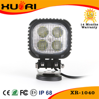 long lifespan and warranty off road led lights 12v led work lamp 40W for ATV