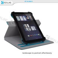 2015 factory supply rotating universal tablet case for 8 inch