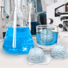 UCHOME Tricksy Brain Shaped Unbreakable Silicone Ice Cube Tray