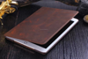 For Apple iPad Air 2 real PU Leather PC hard ultra slim Case