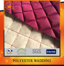 Polyester padding material for garment