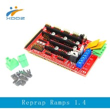 3D printer Reprap Ramps 1.4 Control Board Expansion Board For Arduino Mega 2560 R3