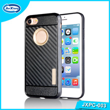 Customer Hard Double PC Carbon Fiber Case For Samsung Galaxy S4 Mini I9190 Cover