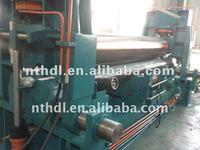 W11S three roller upper roller universal bending machine bench