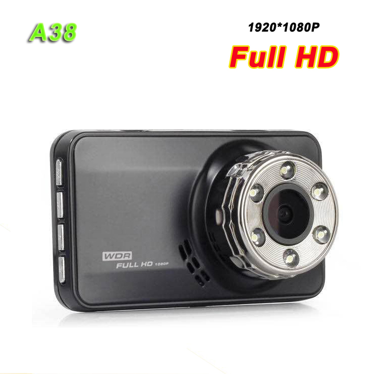 Car Black Box 3 inch car dvr A38 FHD 1080P vehicle driving recorder Novatek 96223 chipset dash camera